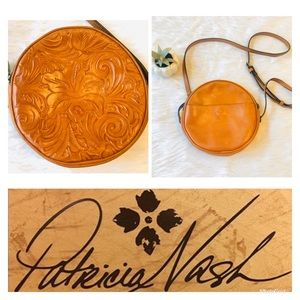 Patricia Nash | Leather Tooled Cross Body Bag